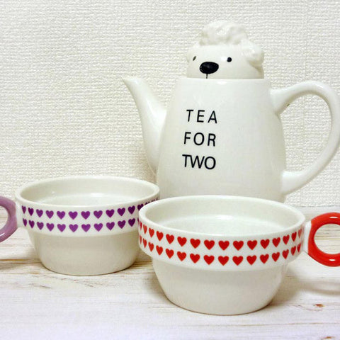 Shinzi Katoh Tea For Two Poodle