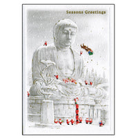 Greeting Life Japanese Style Mini Santa Christmas Card SJ-5