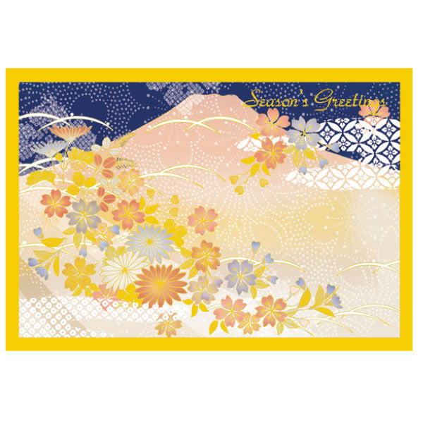 Greeting Life Japanese style Formal Christmas Card SN-57