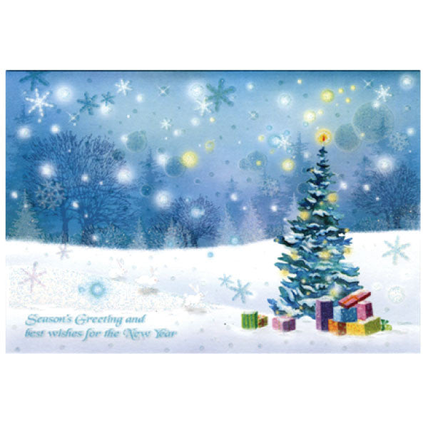 Greeting life christmas card sn 5 japanwave greeting life formal christmas card sn 5 m4hsunfo
