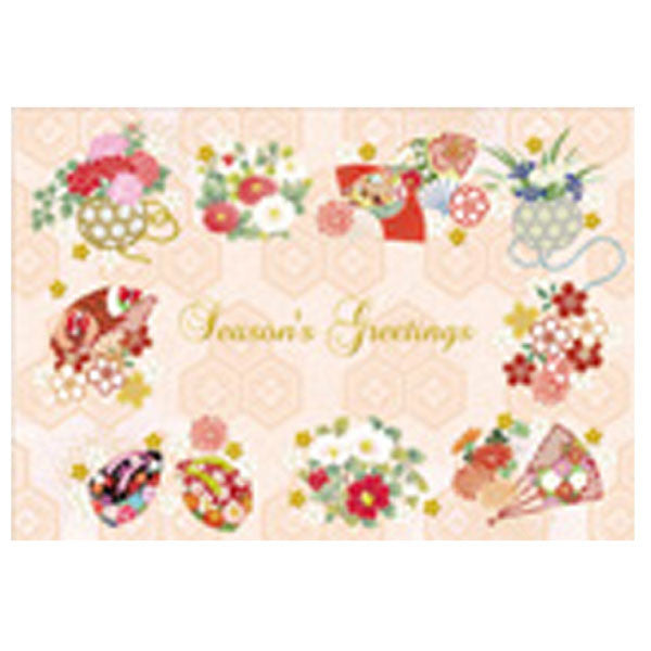 Greeting Life Japanese style Formal Christmas Card SN-86