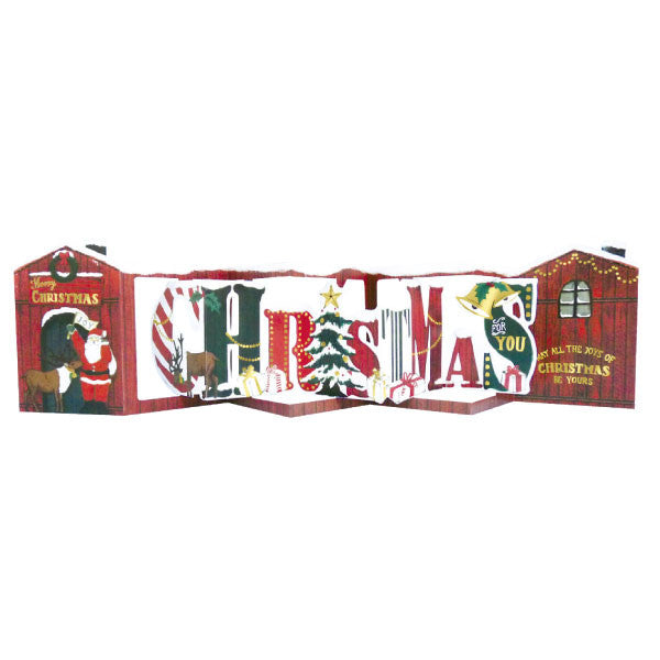 Greeting Life Christmas Signboard Card TK-11