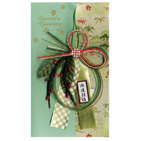 Greeting Life Japanese style Ornament Christmas Card TT-14