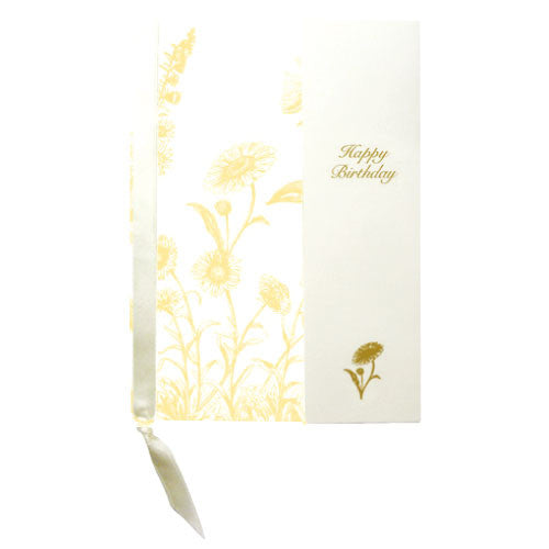 Greeting Life Botanical Birthday Card YB-7
