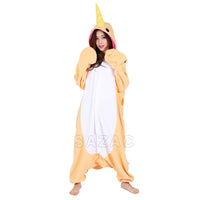 Sazac Orange Narwhal Kigurumi