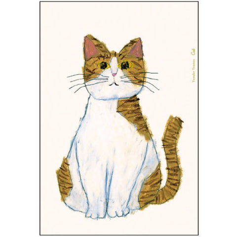 Greeting Life Post Card Yusuke Yonezu Cat YZ-51
