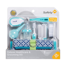 Load image into Gallery viewer, Safety 1st Deluxe 25-Piece Baby Healthcare and Grooming Kit (Arctic Blue)