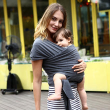 Load image into Gallery viewer, Eco-Friendly Adjustable Kangaroo Style Baby Sling