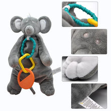 Load image into Gallery viewer, Eco-Friendly Baby Teething Comforter Mouse