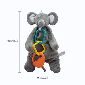 Eco-Friendly Baby Teething Comforter Mouse