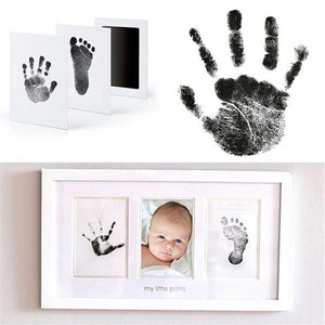 SAFE Inkless Baby Hand and Footprint Memory Kit