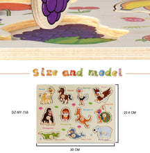 Load image into Gallery viewer, Eco-Totz Big Wooden Puzzle Boards