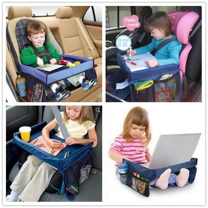 Snack & Play Travel Tray We love this for road trips