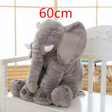 Load image into Gallery viewer, Big Plush Baby Elephant Pillow