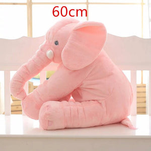Big Plush Baby Elephant Pillow