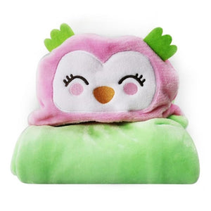 Eco-Totz Fluffy Hooded Towel