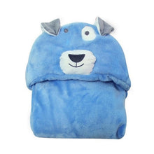 Load image into Gallery viewer, Eco-Totz Fluffy Hooded Towel