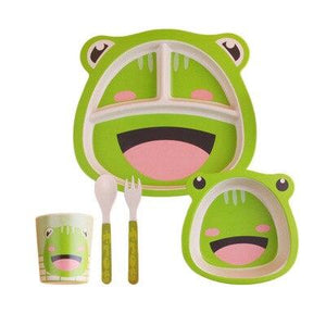 5 Piece Eco-Friendly Totz Bowl Set