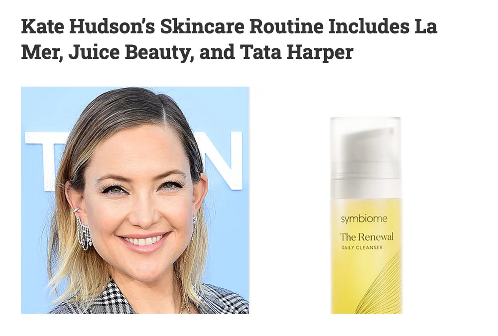 Kate Hudson's Skincare Routine Includes La Mer, Juice Beauty, and Tata Harper