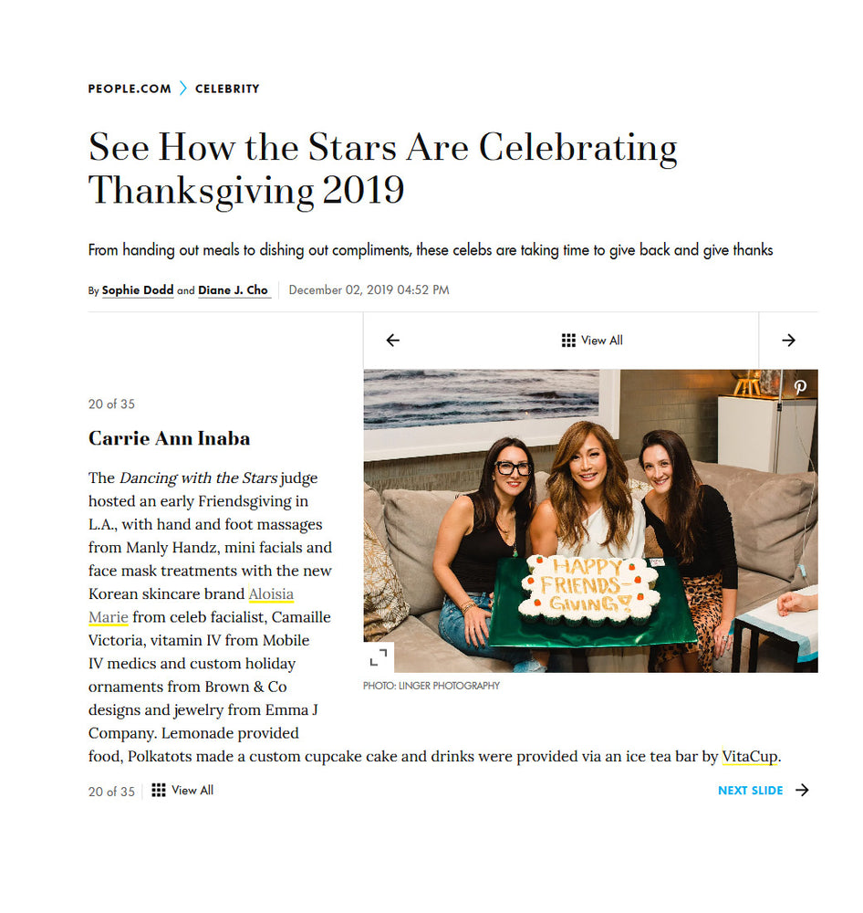See How the Stars Are Celebrating Thanksgiving 2019