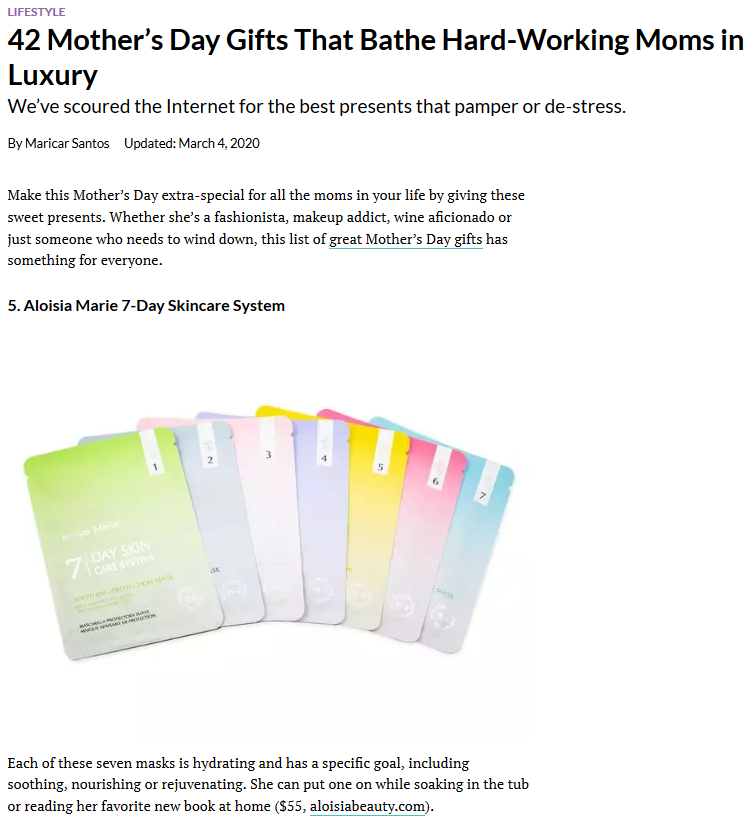 42 Mother's Day Gifts That Bathe Hard-Working Moms in Luxury