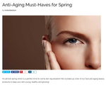 Anti-Aging Must-Haves for Spring