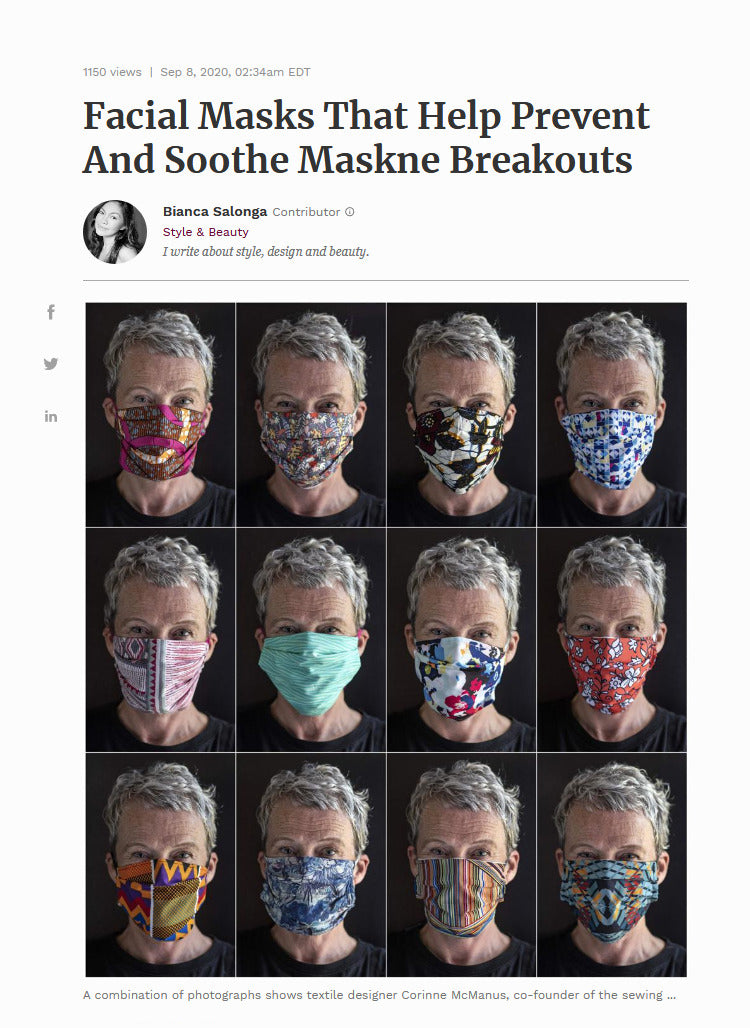 Facial Masks That Help Prevent And Soothe Maskne Breakouts