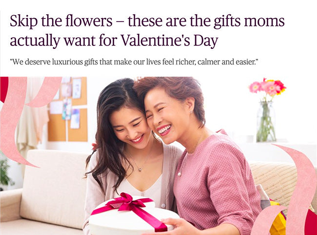 Skip the flowers — these are the gifts moms actually want for Valentine's Day