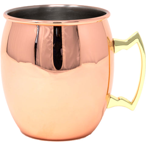 Smooth Copper Mule Cocktail Mug