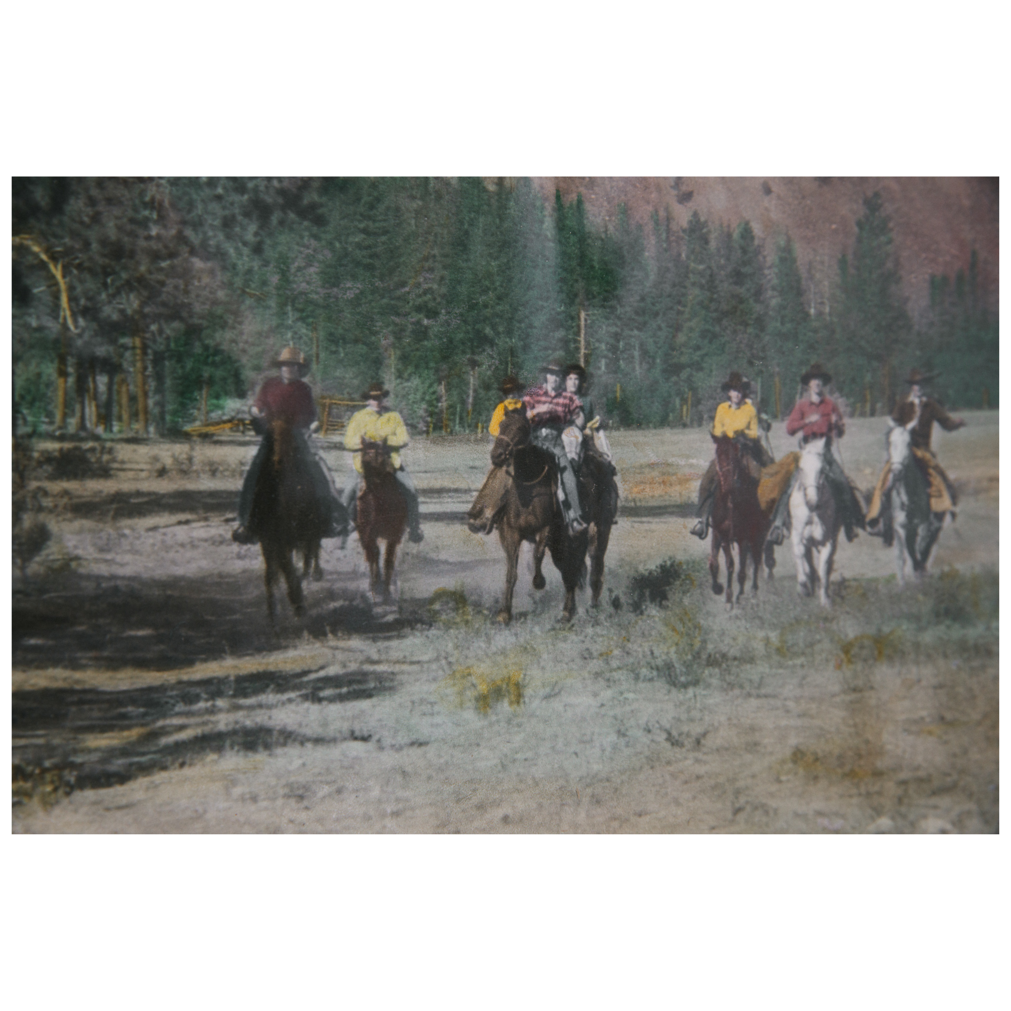 """Horsemen at Rock Creek"" by RH McKay"