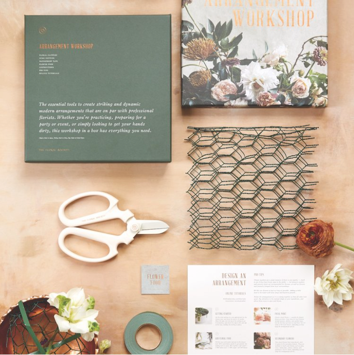Floral Arranging Workshop Kit