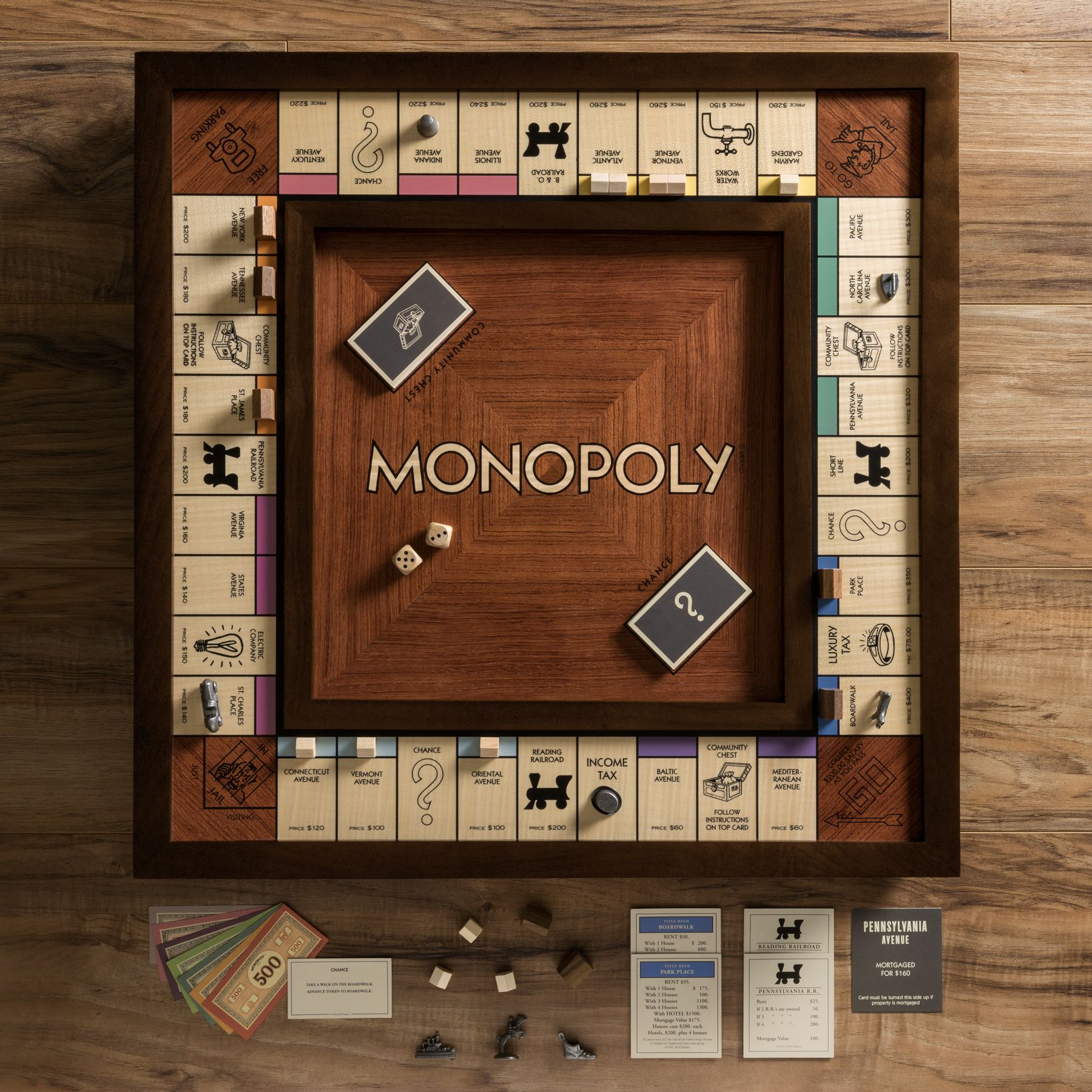 Monopoly Heirloom Edition