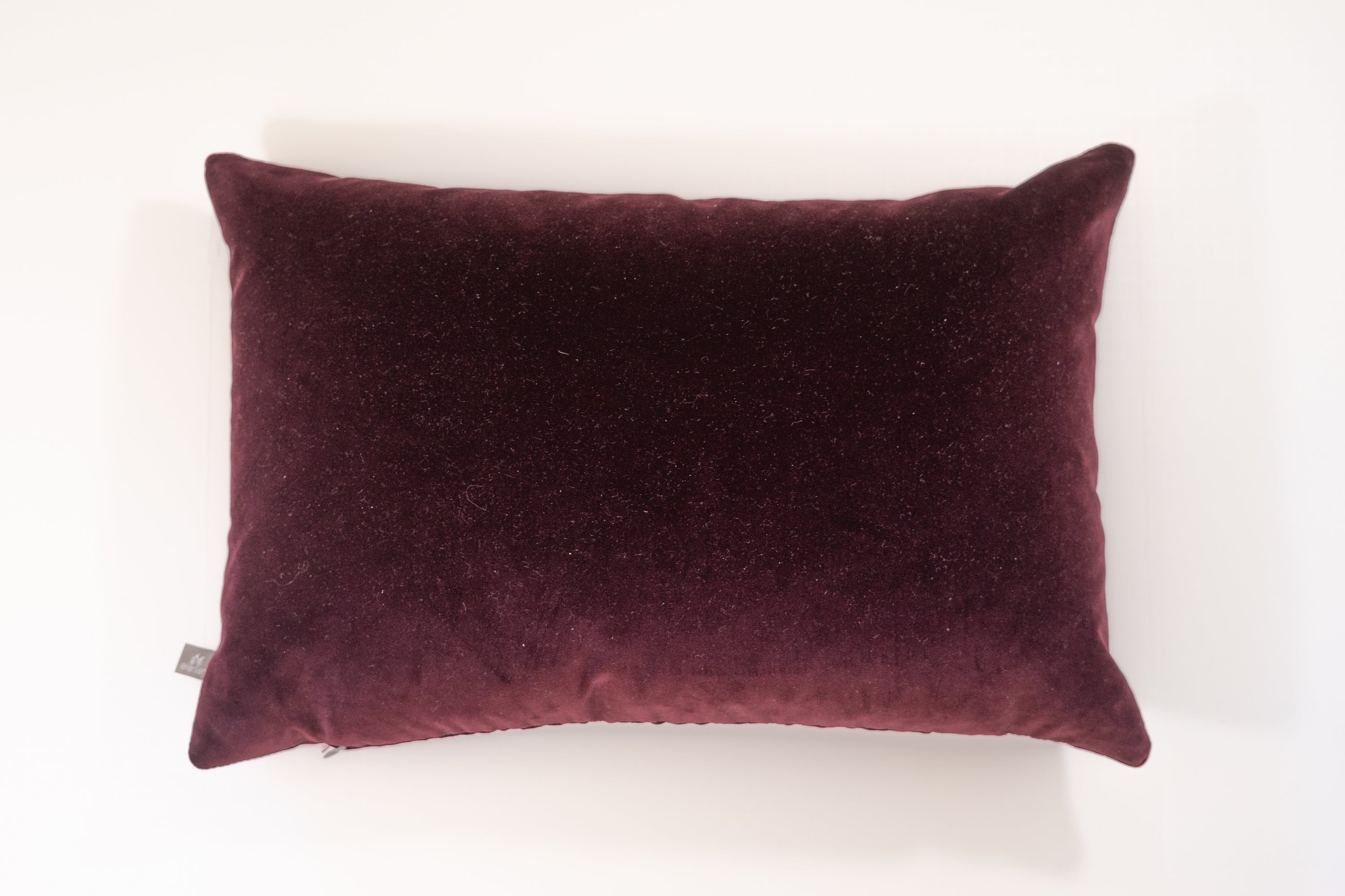 Maroon Velvet Pillow