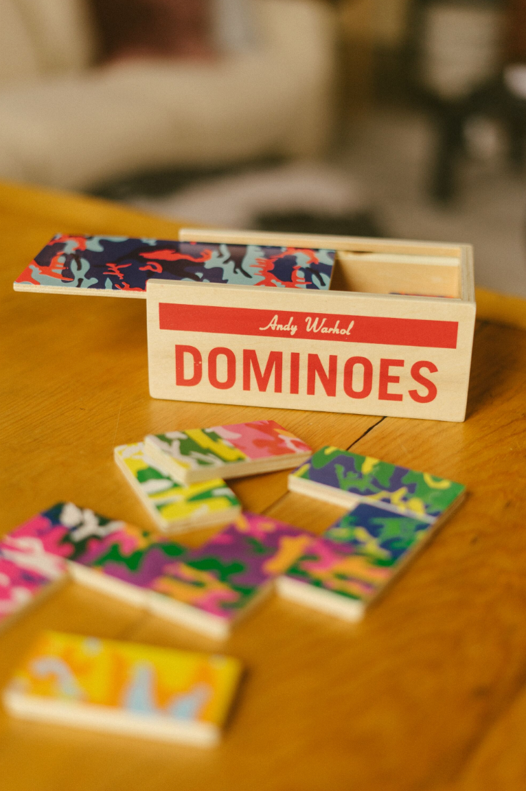 Wood Dominoes by Warhol