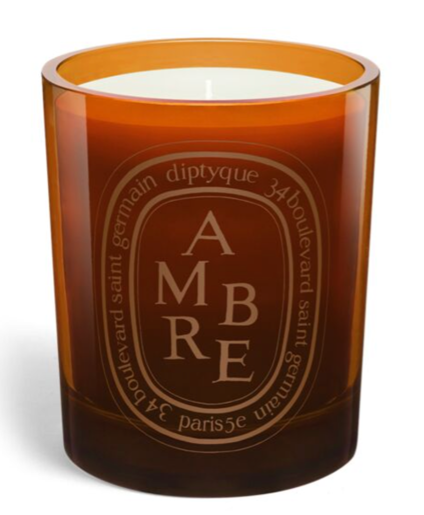 Gold Amber Candle