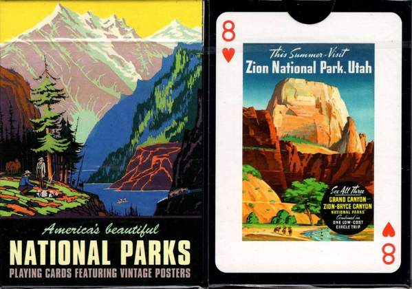 National Parks Card Deck
