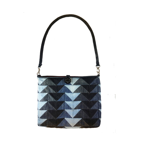 Herringbone Patchwork Large Tote