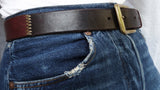 """Tri-Color"" Patchwork Leather Belt"