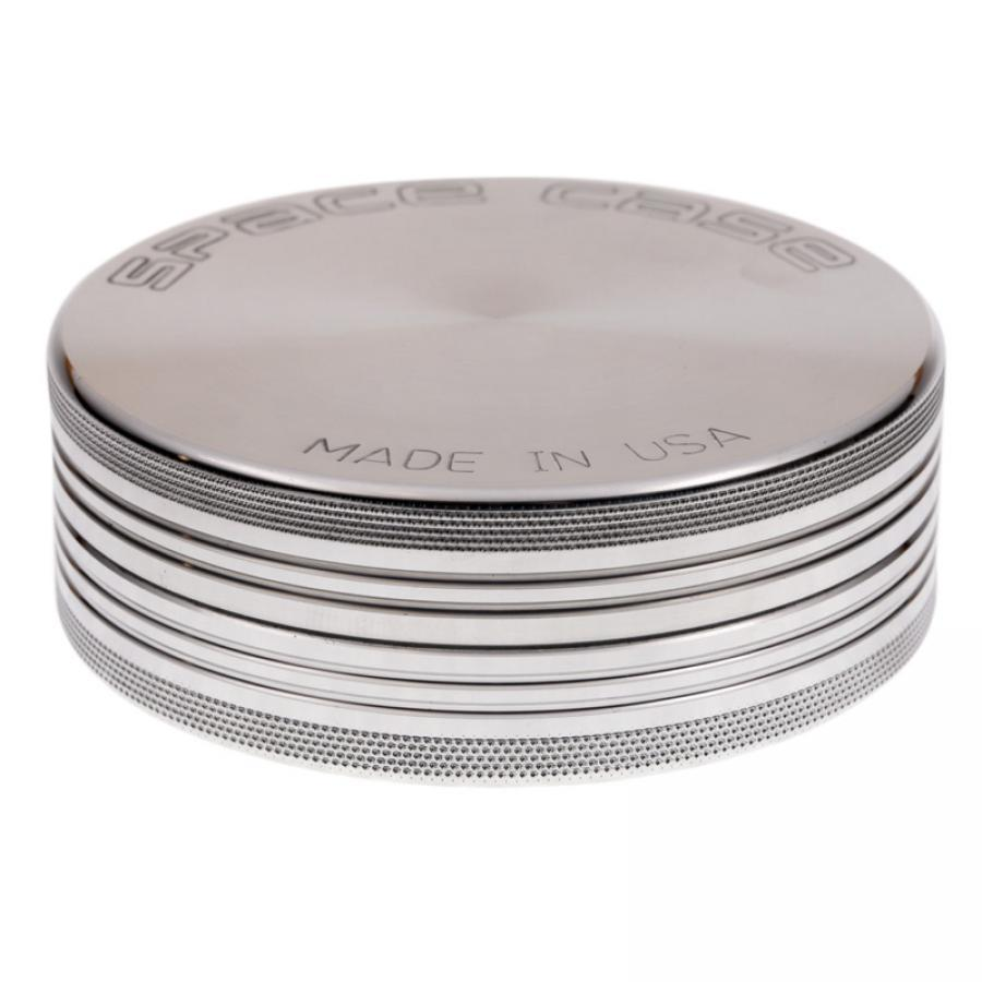Space Case Magnetic Large 2 Piece Grinder - Aluminum - 360 Alternative
