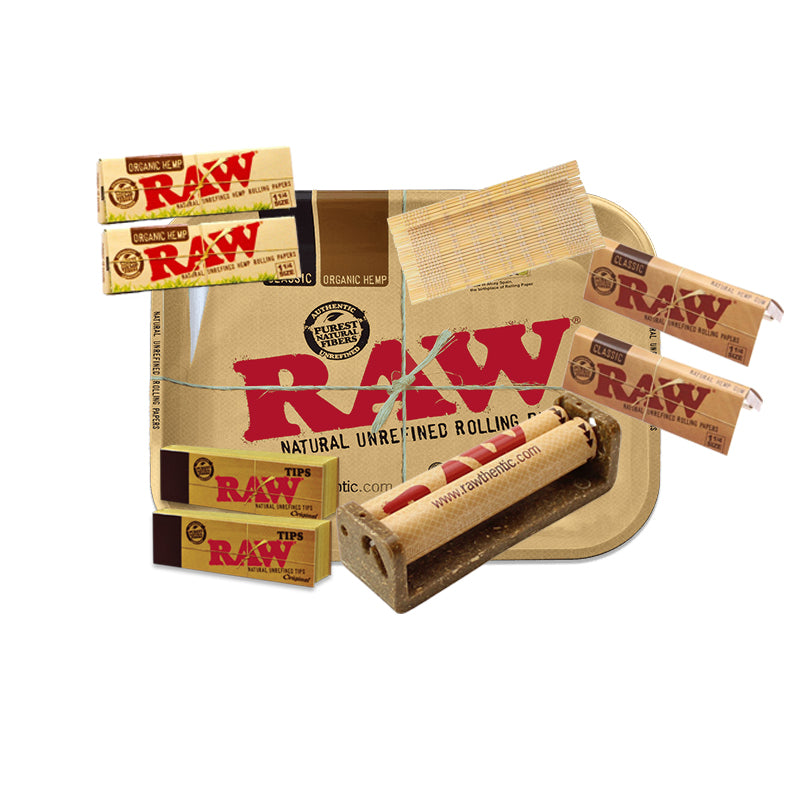 9 Item Rolling Paper Bundle