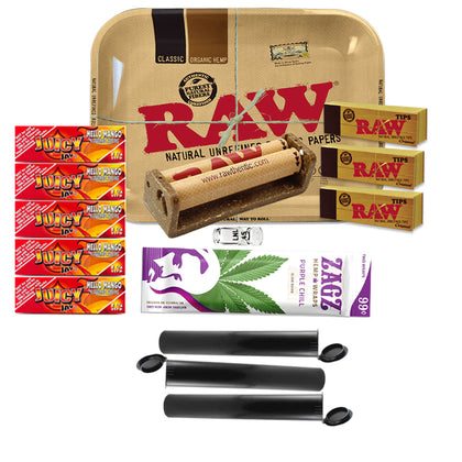15 Item Rolling Paper Bundle