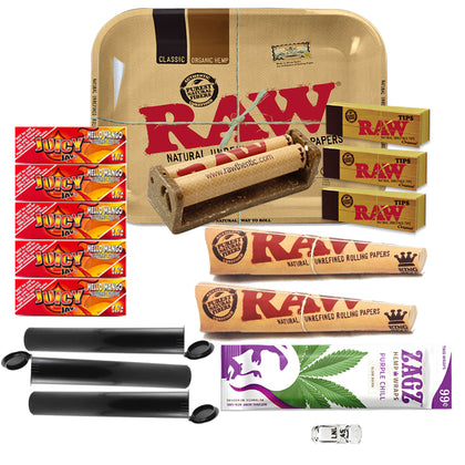 17 Item Rolling Paper Bundle