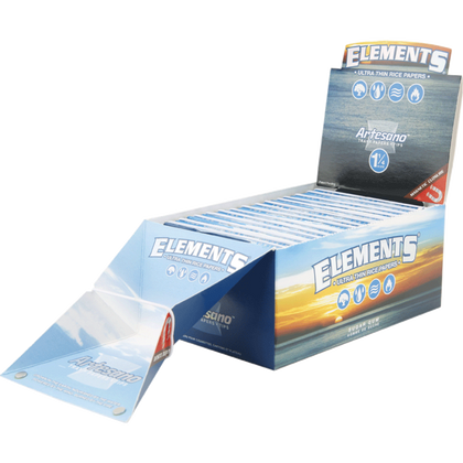 ELEMENTS ARTESANO 1 1/4 Rolling Papers (Box Of 15) - 360 Alternative