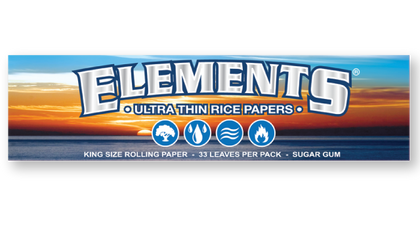 Elements Ultra King Size Rice Paper (One-Pack) - 360 Alternative