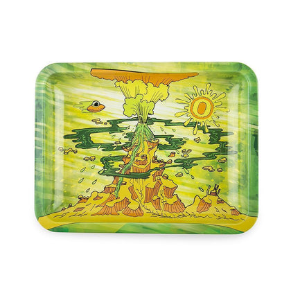 Ooze Eruption Rolling Tray - 360 Alternative