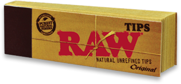 Raw Unrefined Natural Tips (Pack Of 50) - 360 Alternative