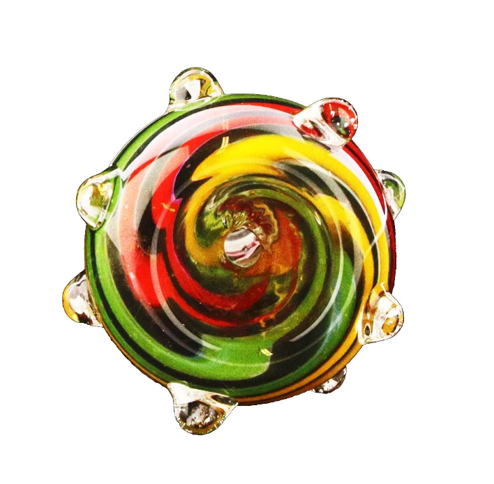 Multi Color Bowl Piece 14mm Male - 360 Alternative
