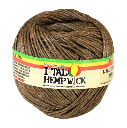 I-Tal Organic Hemp Wick 250ft - 360 Alternative