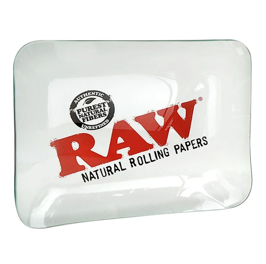 Raw Glass Rolling Tray - 360 Alternative