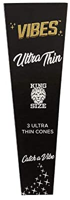 Vibes Cones Ultra Thin - King Size (One-Pack) - 360 Alternative